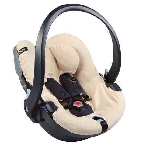 Accessori per il viaggio del bambino - Copri seggiolino auto in spugna per Izi Go Beige [560298] by Besafe