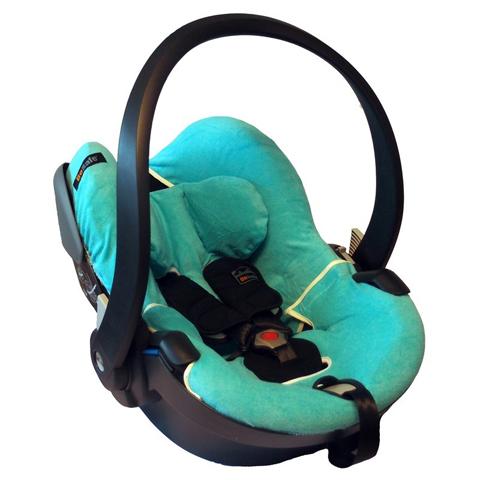 Accessori per il viaggio del bambino - Copri seggiolino auto in spugna per Izi Go Azzurro by Besafe