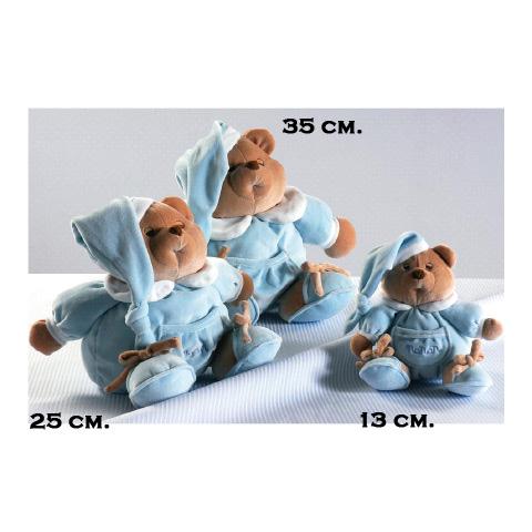 Giocattoli 9+ mesi - Peluche Puccio Azzurro cm. 13 [1255A] by Nanan