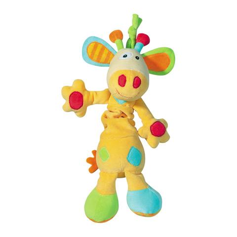 Giocattoli 0+ mesi - Pupazzi con tiramolla - Giraffa color 166316 by Fehn