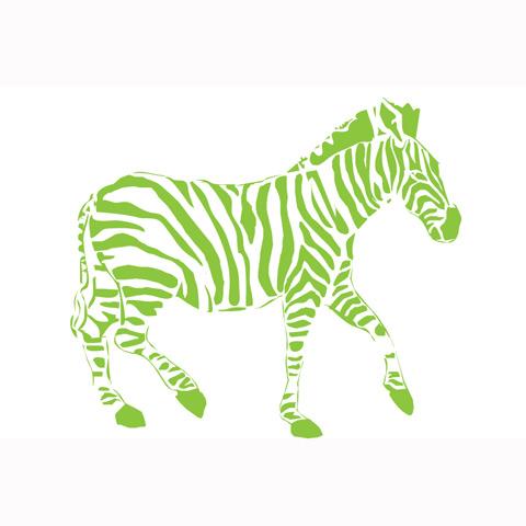 Complementi e decori - La zebra cm. 200 x 174 [7.27 D] by Acte Deco