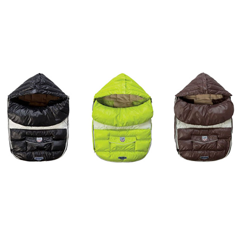 Accessori per il passeggino - Sacco invernale Baby Shield Neon Lime by 7 AM Enfant