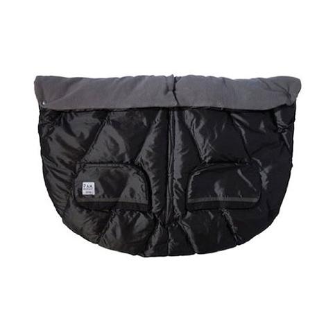 Accessori per il passeggino - Sacco invernale Duo Blanket per passeggino gemellare Metallic Charcoal by 7 AM Enfant