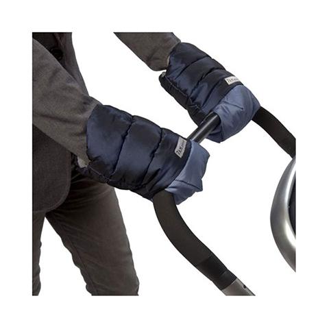 Accessori per il passeggino - Guanti Warmuff HM212 - Coppia di moffole Metallic Steel/Prussiam Blue by 7 AM Enfant