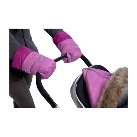 Accessori per il passeggino - Guanti Warmuff HM500 - Coppia di moffole Pink/Grape by 7 AM Enfant