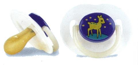 Biberon e succhiotti - Succhietti in silicone [confezione doppia] 3+ mesi, notturni [5364 SCF127/17] by Avent
