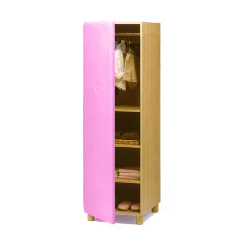 Altri moduli per arredo - Armadio Soft 021 rosa by Lazzari