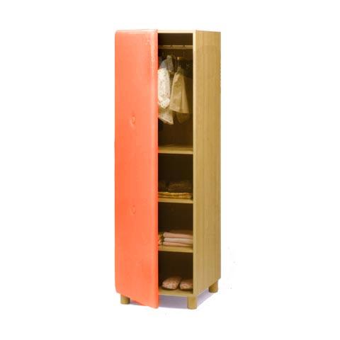 Altri moduli per arredo - Armadio Soft 009 arancio by Lazzari