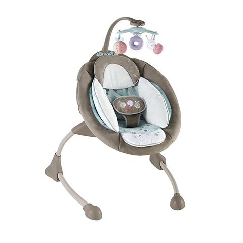 Altalene e dondolini - Sdraietta oscillante InGenuity Cozy Coo Sway Seat BBK-60048 by Bright Starts