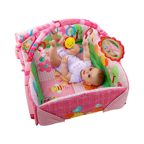 Giocattoli 0+ mesi - Play Place - Palestrina lusso rosa 9010 by Bright Starts