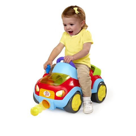Giocattoli 12+ mesi - Automobilina cavalcabile spara palle BBK-9106-52085 by Bright Starts