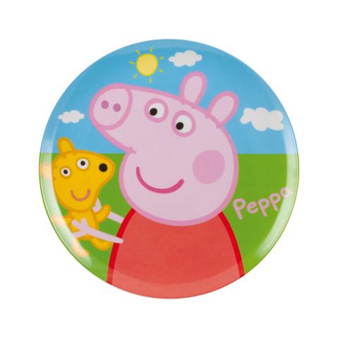 Stoviglie decorate - Piatto piano - Peppa Pig 123170 by BBS