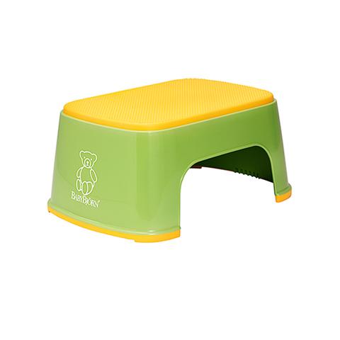 Accessori per asili e per alberghi - Sgabellino Safe Step SPRING GREEN [061162] by Baby Bjorn