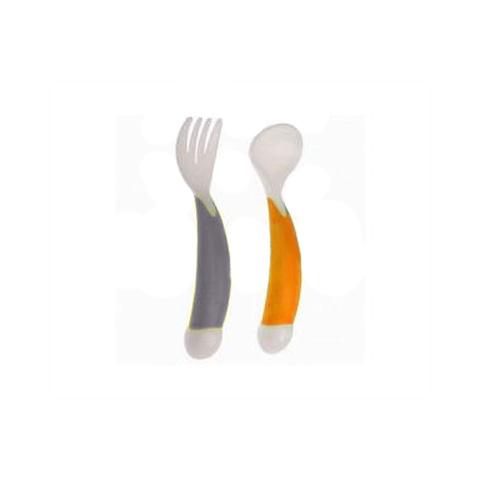 Allattamento e svezzamento - 2 posate d`apprendimento ergonomiche 31000175 by Bébé Confort