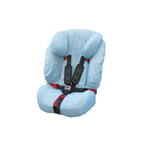 Accessori per il viaggio del bambino - Copriseggiolino in spugna per Evolva Britax BC050.02 Azzurro by Babys Clan