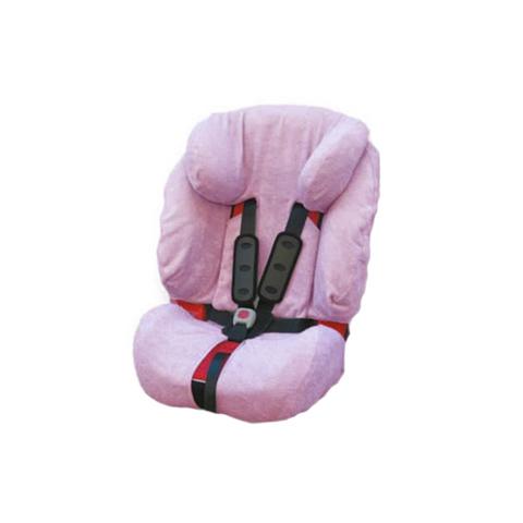 Accessori per il viaggio del bambino - Copriseggiolino in spugna per Evolva Britax BC050.01 Rosa by Babys Clan