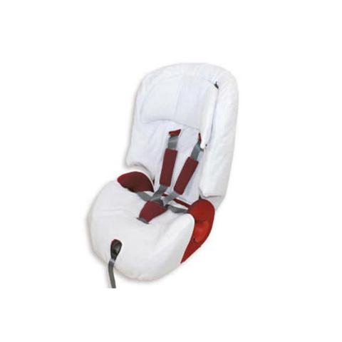 Accessori per il viaggio del bambino - Copriseggiolino in spugna per Prime Miglia Inglesina BC076.06 Bianco by Babys Clan
