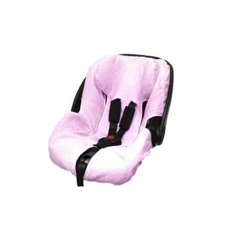 Accessori per il viaggio del bambino - Copriovetto primo viaggio trifix in spugna Peg Perego BC021.01 Rosa by Babys Clan