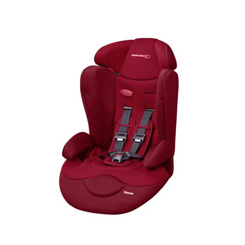 Silla de coche grupo 1 2 3 9 36 kg b b confort trianos safe side raspberry red ebay - Sillas grupo 2 3 mas seguras ...