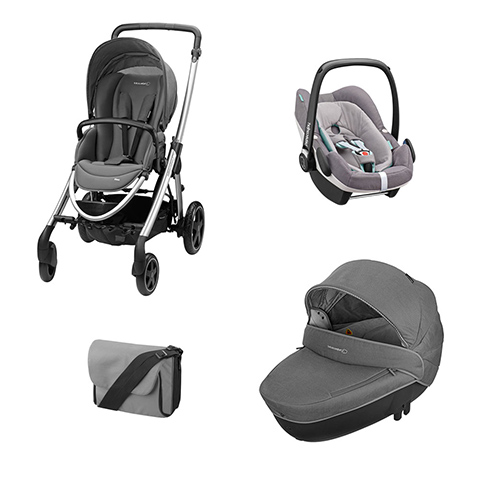 Bébé Confort [TRIO] Elea + Windoo + Pebble Plus I-Size + borsa