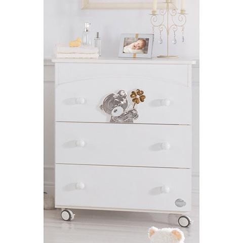 Cassettiere fasciatoio - Bagnetto Fortunello Bianco by Baby Expert