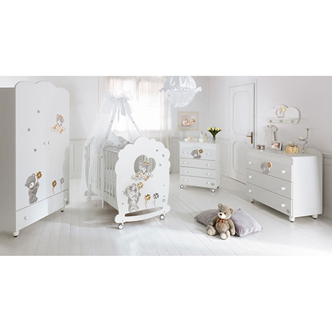 Camerette complete - Meraviglia Bianco by Baby Expert