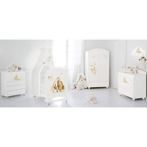 Camerette complete - Collezione Cremino Lux by Trudi Bianco by Baby Expert