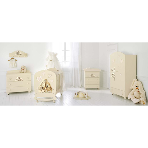 Camerette complete - Collezione Cremino Lux by Trudi Panna by Baby Expert