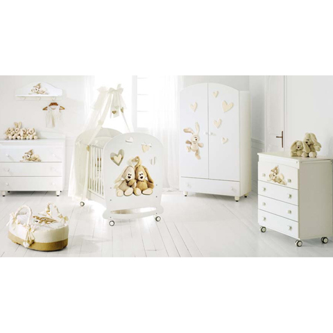 Camerette complete - Collezione Cremino by Trudi Bianco by Baby Expert