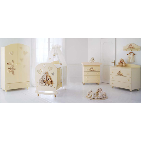 Camerette complete - Collezione Cremino by Trudi Panna by Baby Expert