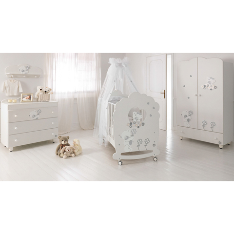 Camerette complete - Serenata Bianco by Baby Expert