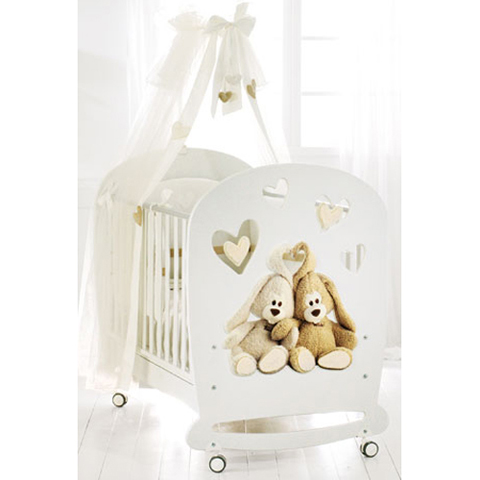 Lettini - Cremino by Trudi Bianco by Baby Expert