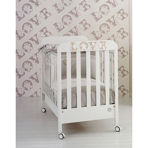 Lettini - Love Bianco by Baby Expert