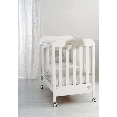 Lettini - Pisolo Bianco-tortora by Baby Expert