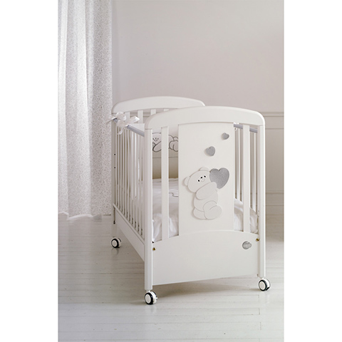 Lettini - Romeo Bianco-argento by Baby Expert