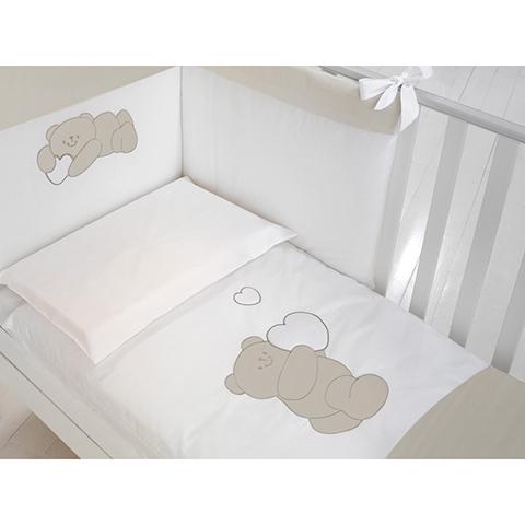 Piumoni - Piumotto Romeo Bianco-tortora by Baby Expert