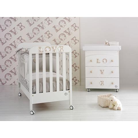 Baby Expert Set lettino Love + cass.fasc. Love + piumone Love