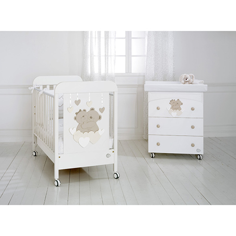 Baby expert set lettino piumone cassettiera fasciatoio - Lettino neonato ikea ...