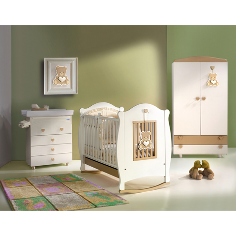 Camerette complete - Oliver Avorio by Baby Italia