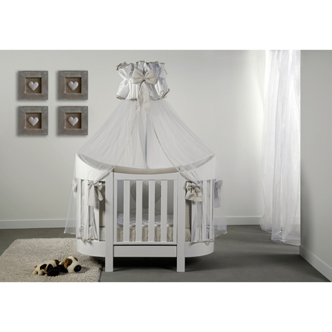 babybett kinderbett aus holz eva baby italia bianco keine matratze. Black Bedroom Furniture Sets. Home Design Ideas