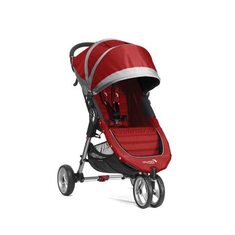 Passeggini - City Mini 3 Crimson/Gray [BJ0131123640] by Baby Jogger