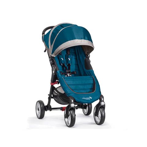 Passeggini - City Mini 4 wheels Teal/Gray [BJ0141042911] by Baby Jogger