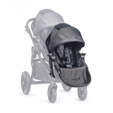 Linea gemellare - Seconda seduta per City Select Charcoal/Denim [BJ0140349601] by Baby Jogger