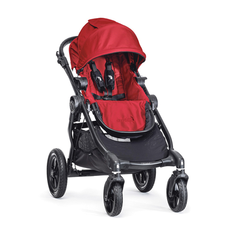 Passeggini - City Select Red [BJ0142343640] by Baby Jogger