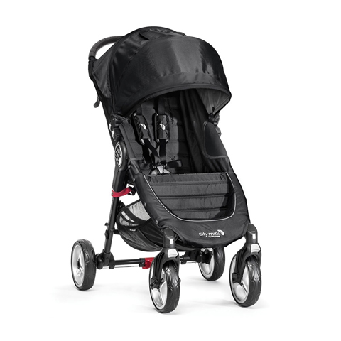 Passeggini - City Mini 4 wheels Black/Gray [BJ0141041000] by Baby Jogger