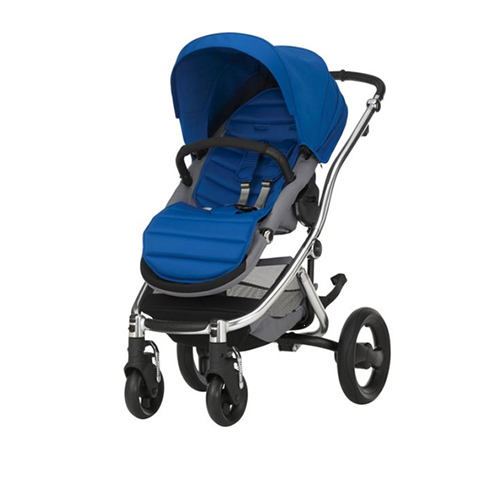 buggy sportwagen kinderwagen affinity 2 ocean blue rahmen chrome britax ebay. Black Bedroom Furniture Sets. Home Design Ideas