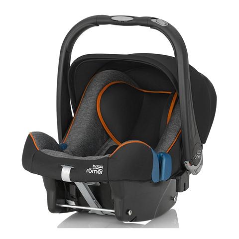 Seggiolini auto Gr.0+ [Kg. 0-13] - Baby-Safe Plus SHR II Black Marble by Romer