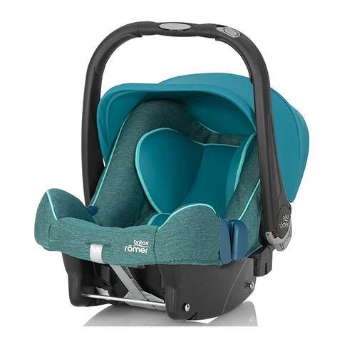 Seggiolini auto Gr.0+ [Kg. 0-13] - Baby-Safe Plus SHR II Green Marble by Romer