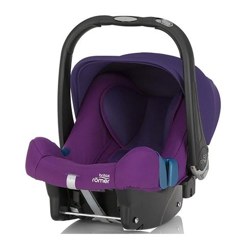 Seggiolini auto Gr.0+ [Kg. 0-13] - Baby-Safe Plus SHR II Mineral Purple by Romer
