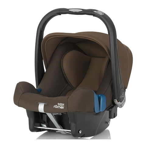Seggiolini auto Gr.0+ [Kg. 0-13] - Baby-Safe Plus SHR II Wood Brown  by Romer